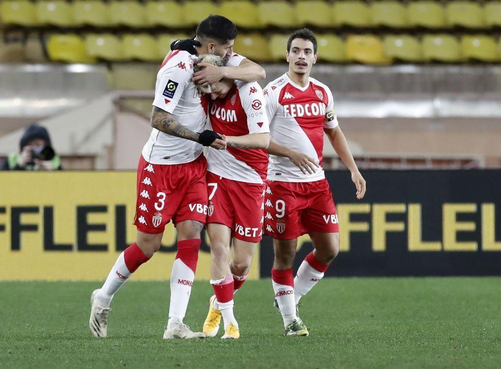Mónaco vence em casa do Nantes e aproxima-se do Paris Saint-Germain