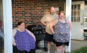 Irmãs com obesidade mórbida lutam para perderem peso mas a quarentena não ajuda