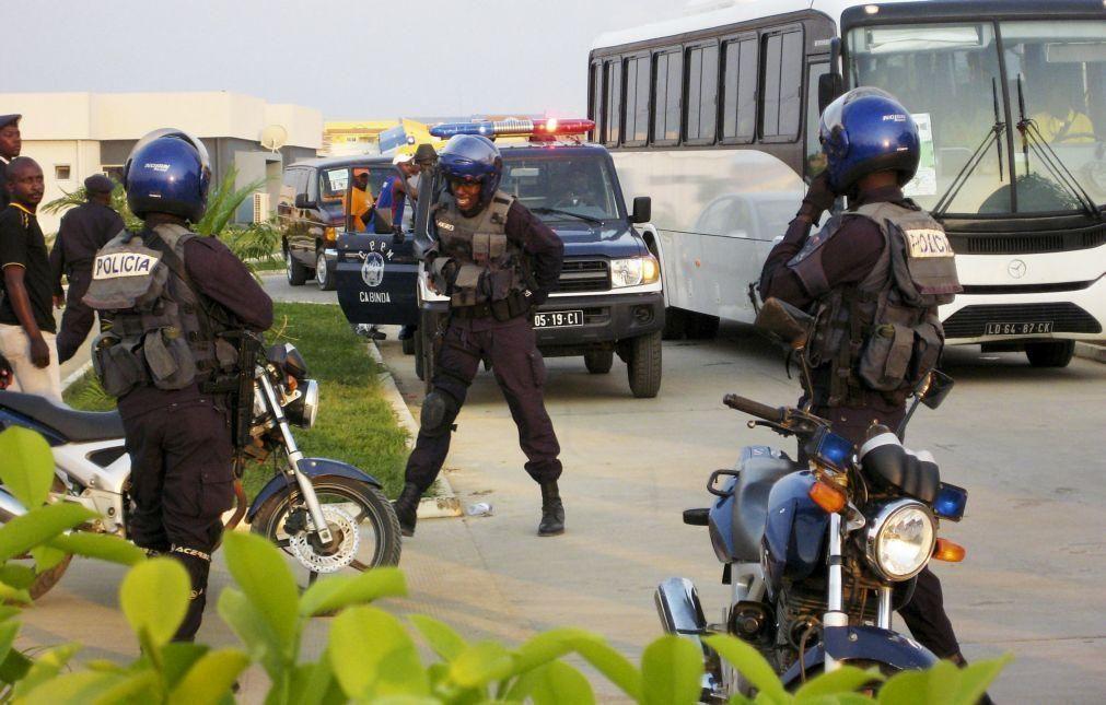 Seis ativistas de Cabinda detidos hoje em Luanda por tentativa de manifestação