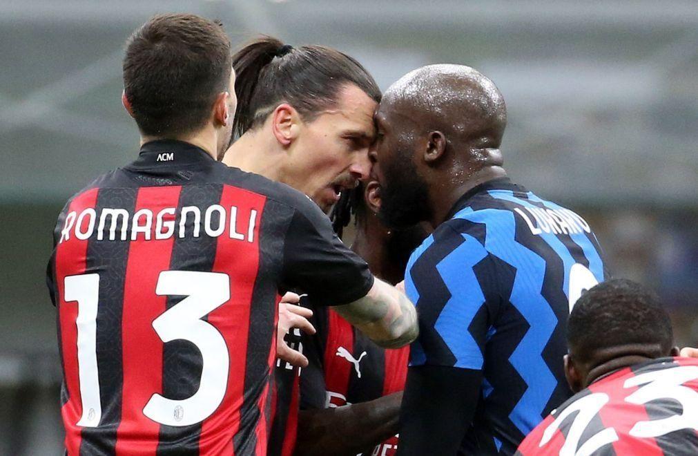 Federação italiana abre inquérito ao desentendimento entre Ibrahimovic e Lukaku