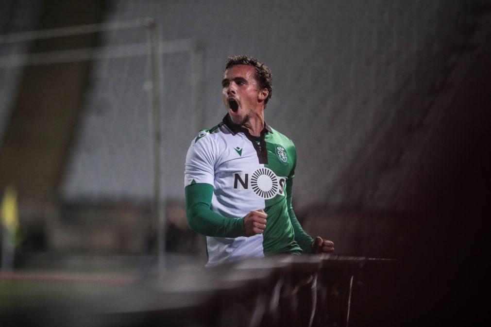 Avançado Pedro Marques reforça Gil Vicente por empréstimo do Sporting