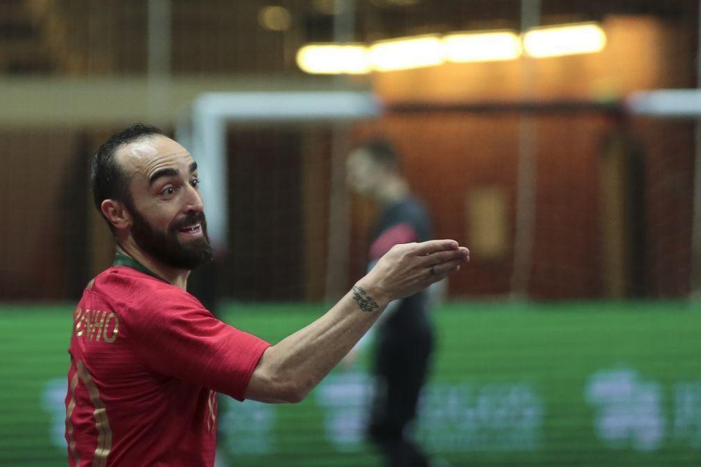 Ricardinho aponta ao triunfo na Polónia rumo ao Euro2022 de futsal