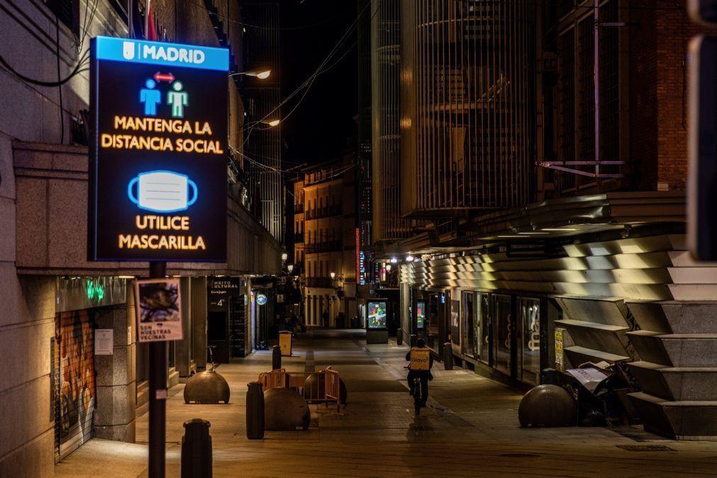 Covid-19: Espanha com contágios a baixar teve quase 80.000 casos no fim de semana