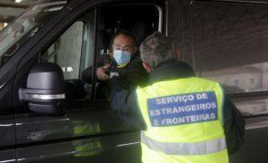 Mais de 4 mil cidadãos controlados após reposição de fronteiras com Espanha