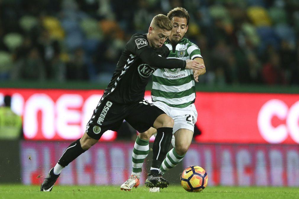 Lateral João Pereira regressa ao Sporting