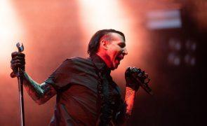 Cantor Marilyn Manson acusado de violação de várias mulheres