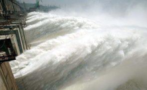 Quase todas as bacias hidrográficas registaram subidas na quantidade de água armazenada