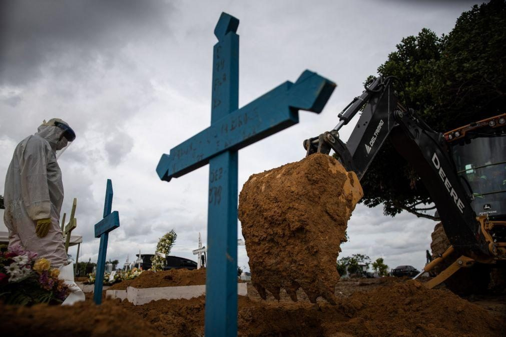 Covid-19: Brasil chega aos 225 mil mortos após somar 595 óbitos em 24 horas