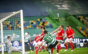 Golo de Mateus Nunes garante vitória do Sporting sobre o Benfica [veja o resumo]