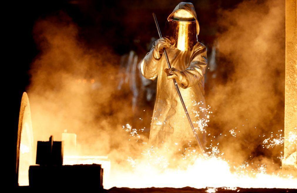 Produção industrial do Brasil regista queda de 4,5% em 2020