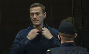 Navalny: Opositor diz que o seu julgamento se destina a