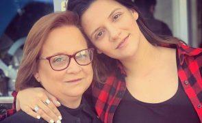 Noémia Costa declara-se à filha após morte de Licínio França