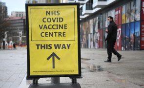 Covid-19: Reino Unido deteta nova mutação na variante britânica do coronavírus
