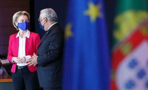 UE/Presidência: Costa e Von der Leyen pedem mobilização da indústria europeia para produção de vacinas