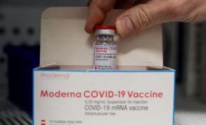 Covid-19: Produção de vacina da Moderna começará em março