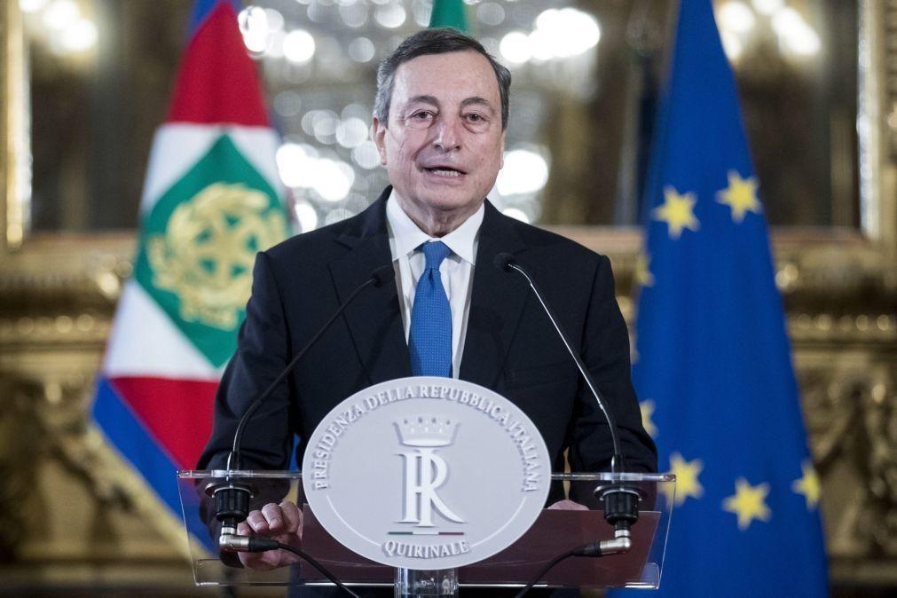 Mario Draghi aceita formar Governo de emergência em Itália