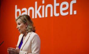 Lucros brutos do Bankinter em Portugal caem 31% em 2020 para 45 milhões de euros