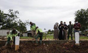 Covid-19: Balanço mundial indica mais de 2,25 milhões de mortos desde início da pandemia
