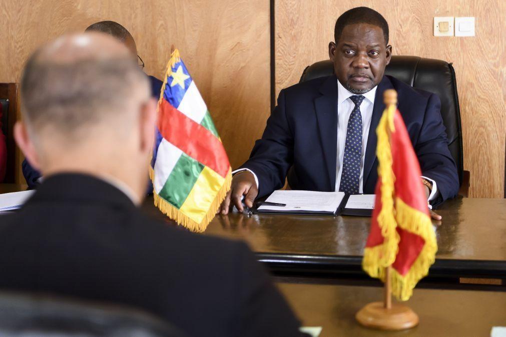 RCA: Primeiro-ministro anuncia recuperação de cidade aos rebeldes pelas Forças Armadas