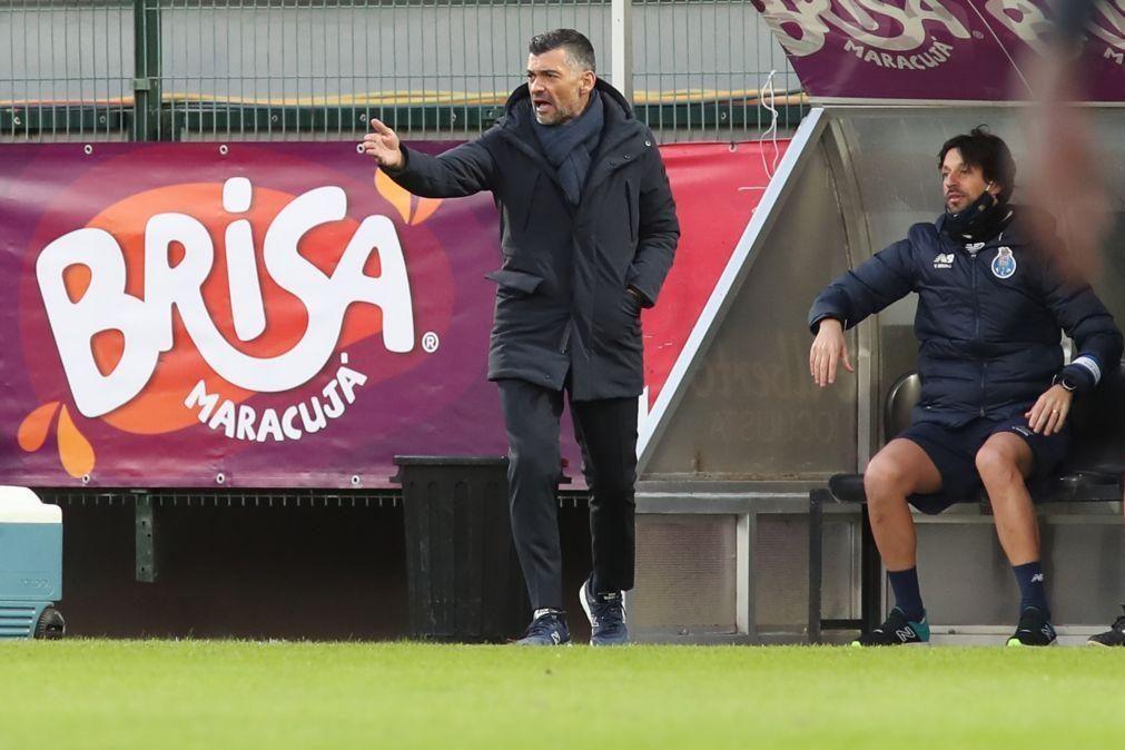 Sérgio Conceição admite mudanças no FC Porto frente ao Belenenses