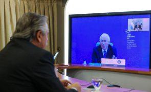 Costa acerta com Argentina cooperação para avançar acordo UE-Mercosul