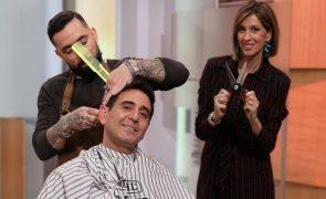 Cabeleireiros arrasam SIC após José Figueiras cortar o cabelo em direto