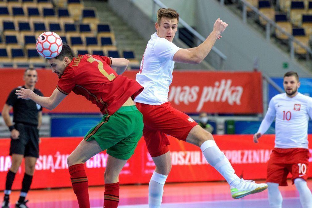 Portugal soma na Polónia primeira vitória no apuramento para o Europeu de futsal