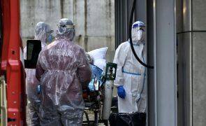 Covid-19: Hospital de campanha em Lisboa vai ter mais 150 camas