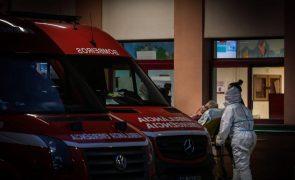 Amadora-Sintra continua sem receber doentes respiratórios em ambulâncias até às 08:00 de hoje