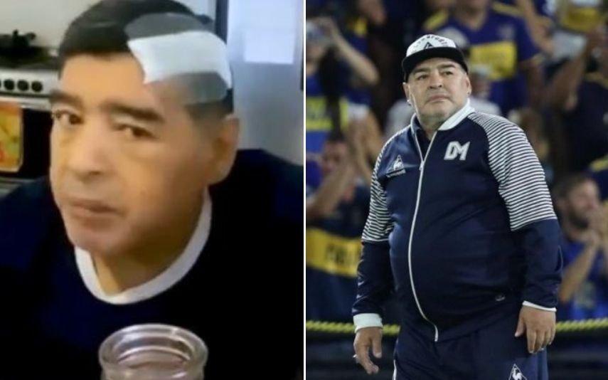 Diego Maradona Imagens inéditas de