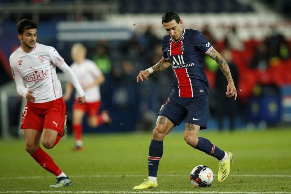 Lyon, Paris Saint-Germain e Mónaco vencem e fica tudo igual com Lille na frente