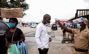 Covid-19: Angola contabiliza mais 37 infeções e dois mortos em 24 horas