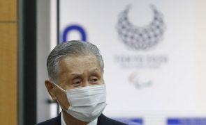 Tóquio2020: Presidente da organização desculpa-se por comentários ofensivos sobre mulheres