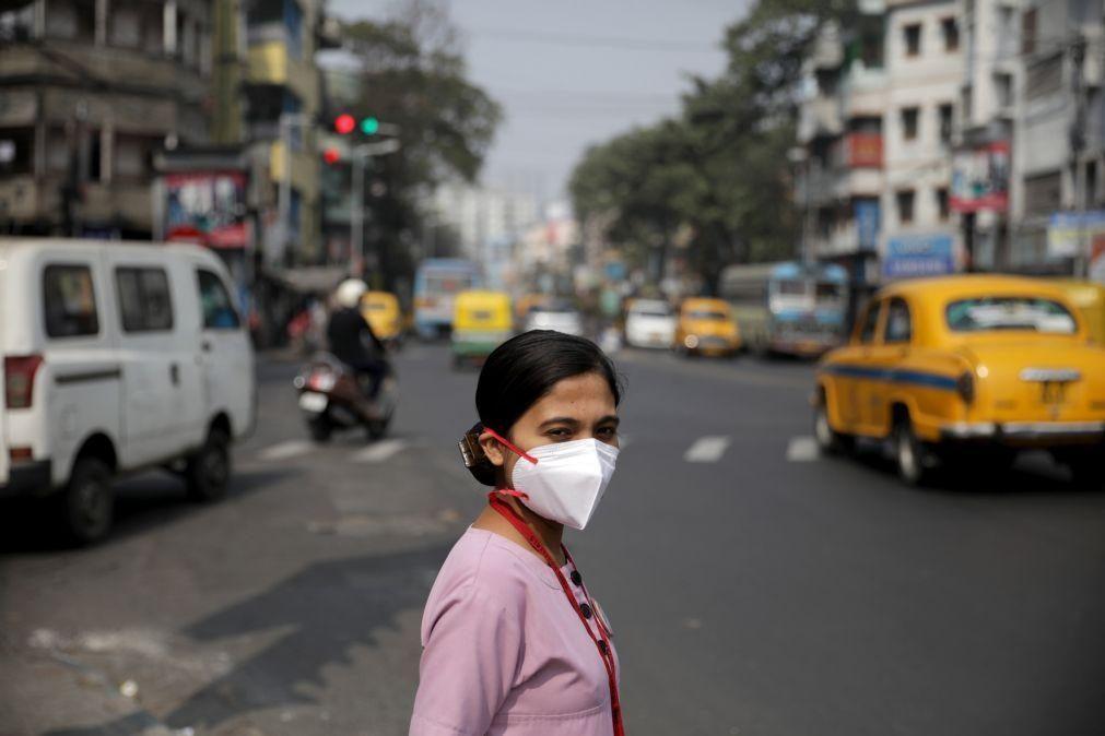 Covid-19: Índia com 107 mortes e quase 13 mil novos casos