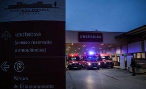 Covid-19: Amadora-Sintra já está a receber doentes respiratórios em ambulâncias