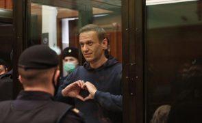 Kremlin rejeita debater com Ocidente decisões de tribunais russos sobre Alexei Navalny