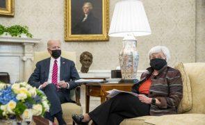 Secretária de Tesouro dos EUA reconhece que vêm aí