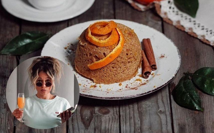 Bolo de laranja A receita de caneca de Vanessa Alfaro que e faz em 5 minutos