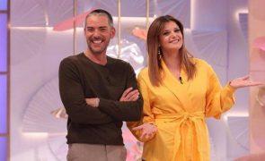 Maria Botelho Moniz e Cláudio Ramos O que eles dizem um sobre o outro no primeiro mês de programa