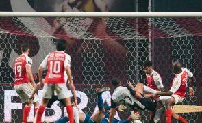 Sporting de Braga dá a volta ao resultado e vence Portimonense