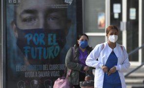 Covid-19: México com 1.682 mortes e mais de 13 mil casos em 24 horas