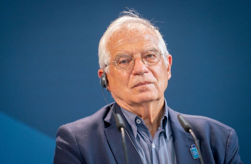 Navalny: Borrell diz que as relações Rússia/UE estão num ponto muito baixo