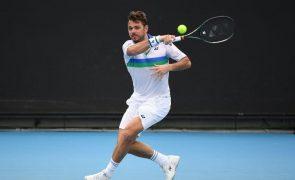 Wawrinka e Serena desistem dos preparatórios para o Open da Austrália