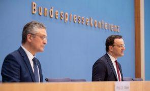 Covid-19: Governo alemão quer evitar situações graves como a de Portugal