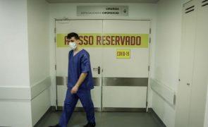 Covid-19: Hospital da Guarda com lotação completa em cuidados intensivos