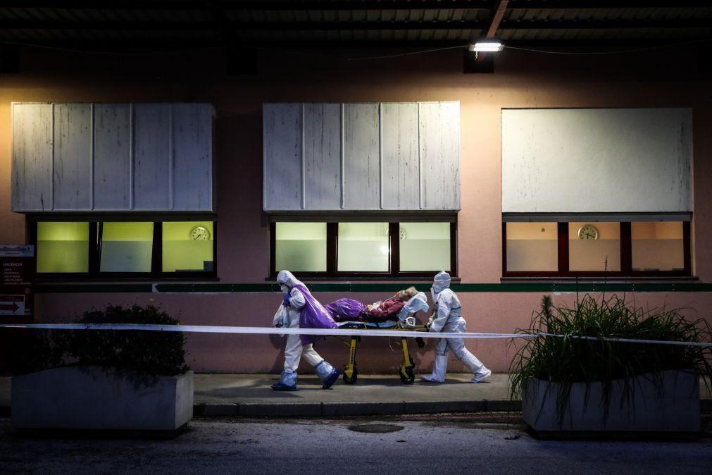 Covid-19: Amadora-Sintra transfere mais cinco doentes para o Porto, um dos quais em UCI