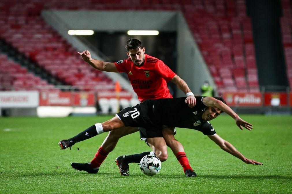 Benfica empata com Vitória de Guimarães e deixa Sporting fugir ainda mais