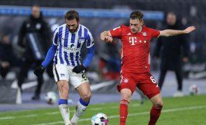 Bayern Munique vence na visita ao  Hertha Berlim e amplia vantagem no comando