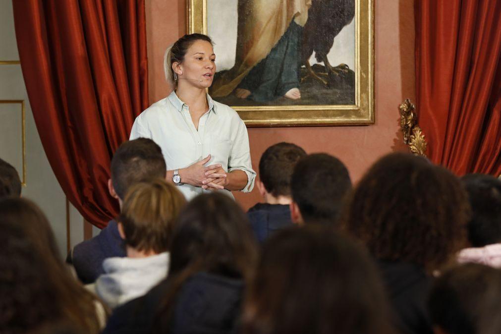Telma Monteiro nomeada embaixadora do COI contra a manipulação de competições