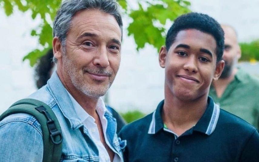 O que disse Diogo Infante ao filho adotivo no dia em que o chamou de pai pela primeira vez